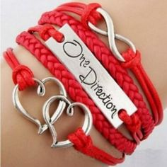 ONE DIRECTION HEARTS ETERNITY MULTIELEMENT BRACELET  $14.99