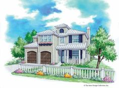 Prairie House Plan with 2843 Square Feet and 4 Bedrooms(s) from Dream Home Source | House Plan Code DHSW53131