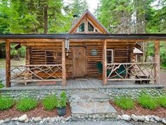 Eagle's Landing Log Cabin Over 100 Years Old Vacation Rental in Greenbank from @HomeAway!
