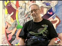 Frank Stella (born May is an American painter and printmaker, noted for his work in the areas of minimalism and post-painterly abstraction. Stella continues to live and work in New York. Artist Art, Artist At Work, Frank Stella Art, Post Painterly Abstraction, 5th Grade Art, Middle School Art, Art Lessons Elementary, Arts Ed, Interview