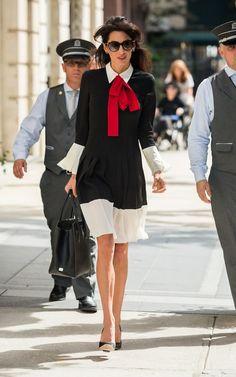 Amal Clooney wears Gucci