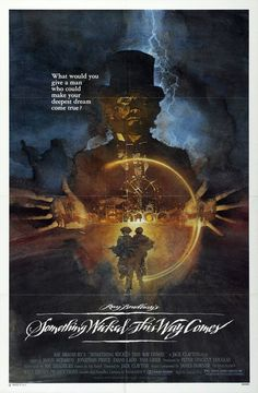 Something Wicked This Way Comes Movie Poster - Premiered 29 April 1983