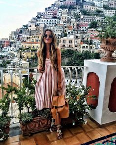 "GINA YBARRA. on Instagram: ""Living a fairytale ♥️ //. #Positano #Italy"""