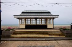 :: Seaside shelter at Worthing, near to Worthing, West Sussex, Great Britain by Steve Daniels Worthing, Shelters, Great Britain, Seaside, Mansions, House Styles, Home Decor, Luxury Houses, Interior Design