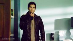 Discover Derek hidden in bedroom by returning of the high school .......dreams came come true,especially when we are called Stiles !