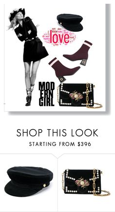 """#ModernGirl"" by leliuscris on Polyvore featuring moda, Manokhi, Proenza Schouler y modern"