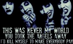 Marilyn Manson lyric