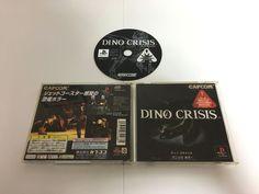 DINO CRISIS 1 PlayStation Japan PS1 PS JP game soft CAPCOM F/S