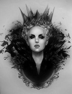 Queen Ravenna - Snow White & The Huntsman - Rebecca Blair
