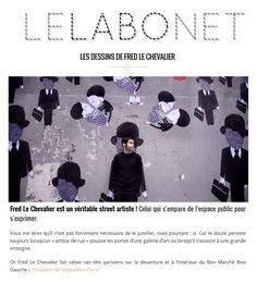 Les dessins de Fred Le Chevalier - LELABONET #ParisVuAuBonMarche #VuAuBonMarche #LeBonMarche #PressReview #PressBook