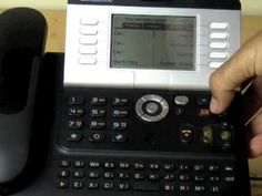 This is the Alcatel 4039 receptionist handset or main phone that works with the Alcatel OMNI PCX phone system for small business. The Alcatel 4039 handset is inteillgent, robust, good looking and offers users functional and easy-to-use features as outline in the video
