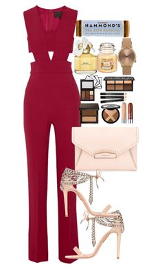 """""""Sem título #4970"""" by lguimaraes ❤ liked on Polyvore featuring Cushnie Et Ochs, Aquazzura, Givenchy, Marc Jacobs and Topshop"""