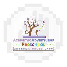 www.pixelsperfectstudio.com Studio Logo, Preschool, Logo Design, Logos, Art, Craft Art, Preschools, Kinder Garden, Logo