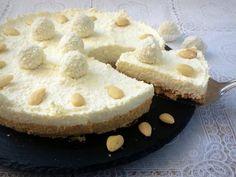 Cheesecake Raffaello senza cottura