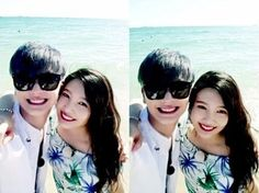 Sungjae ❤ Joy Sungjae And Joy, Sungjae Btob, Wgm Couples, Celebrity Couples, We Get Married, Red Velvet Joy, Park Sooyoung, Choi Seung Hyun, Kpop