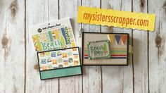 Today I want to share another super fast mini album using Carta Bella's Beach Day 6x6 paper pad and the 12x12 journaling card sheet. This paper is so cute! T...