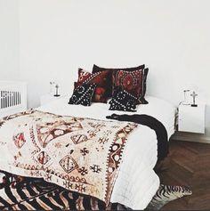 Tribal bedroom decor