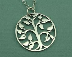 Tree of Life Necklace 925 Sterling Silver