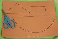 Noah's Ark Preschool Craft | School Time Snippets                                                                                                                                                      More