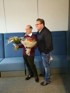 Jim and Martijn