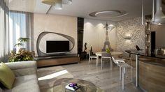 кухня, дизайн квартиры в современном стиле, интерьер кухни в современном стиле, дизайн интерьера в современном стиле