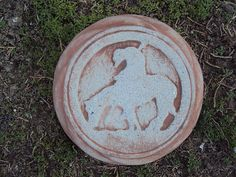 Ranch Decor End Of The Tail Stepping Stone by MountainArtCasting