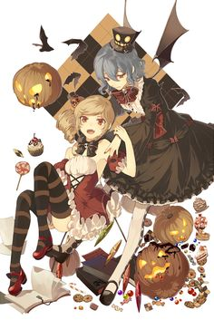 Safebooru is a anime and manga picture search engine, images are being updated hourly. Anime Halloween, Halloween Art, Character Concept, Character Design, Scarlet, Photoshop, Manga Characters, 2d Art, Manga Games