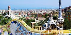 Parc Guell, by Gaudi Oh The Places You'll Go, Places To Travel, Places To Visit, Gaudi, Around The World In 80 Days, Around The Worlds, Dream Vacations, Vacation Spots, Costa Rica