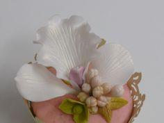 ¿ Y si decoramos los Cup Cakes con flores de azúcar?