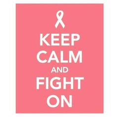 October is Breast Cancer Awareness Month. Fight for the Cure!