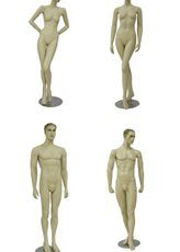 Find unique collection of wholesale male and female mannequins with different styles, poses and colors with retail display service and installation in Toronto, Canada. Fashion Displays, Different Styles, Garden Sculpture, Poses, Statue, Female, Canada, Ontario, Color