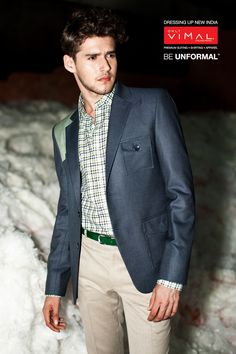 Look radiant in Blue by OnlyVimal Category-Fashion Jacketing 12099 – 1(Blazer) 13018-3(Fashion Cottons trouser)