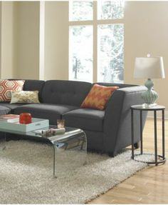 Harper Fabric Modular Living Room Furniture Collection with Sets & Pieces