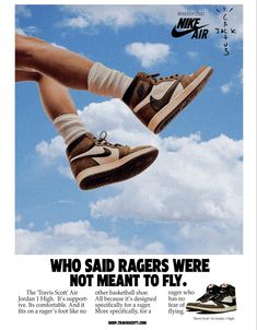 """""""vintage sneaker ads reworked for rappers"""""""
