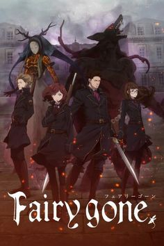 Another promising anime this season. Personas, stands, and now fairies, nothing cooler than a badass spirit partner & Manga Fairy, Light Novel, Anime Fairy, Animation, Anime Watch, Anime, Cartoon, Me Me Me Anime, Manga