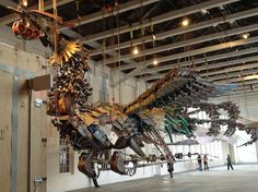 Opening MAR 1, 2014. The Phoenix: Xu Bing at the Cathedral. Cathedral of Saint John the Divine, Amsterdam Ave at 112th