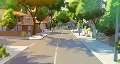 Neighborhood sketch by *Tohad on deviantART