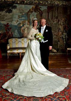 Princess Nathalie of Sayn-Wittgenstein-Berleburg married Alexander Johannsmann on Saturday (religiously - they were civilly married last year)