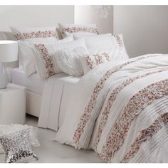 Melody Candy Quilt Cover Set by Logan & Mason Platinum
