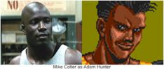 """Mike Colter as Adam Hunter. He was perfect as Big Willy Little in """"Million Dollar Baby"""". I think he would be great as Adam Hunter in the Streets Of Rage movie. Adam Hunter, Mike Colter, Beat Em Up, Tv Shows, Actors, Big, Movies, Films, Film"""