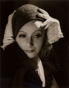 Happy Birthday to Greta Garbo,born 18 September 1905 & died 15 April 1990. Photo  by Clarence Sinclair Bull,1933