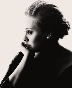 Adele is honestly one of the most beautiful women on this planet. Her confidence makes her natural beauty even more beautiful, and her voice is just perfect.