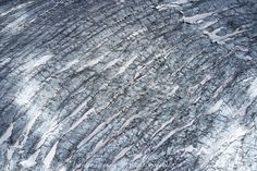 Aletsch Glacier Surface The glacier is full of surprises a natural show, different every time in shape, color and nuance. Jungfraujoch, Outdoor Photography, Global Warming, Climate Change, Art Images, Surface, Mountain, Shape, Fine Art