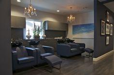 Indigo Salon - Kathy Ann Abell Interiors   San Diego   Salon Decor   Salon Design