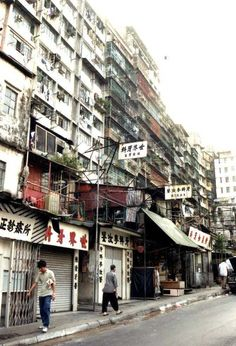 Kowloon Walled City, Hong Kong - By the early 1980s, Kowloon Walled City had an estimated population of 35,000. The City was notorious for its excess of brothels, casinos, opium dens, cocaine parlours, food courts serving dog meat, and secret factories.