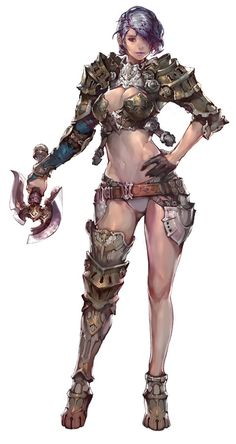 Warrior character design