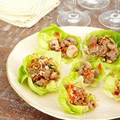 Pork and Mushroom Lettuce Wraps #recipe