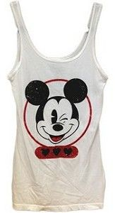 Mickey Mouse Winking Tank Lounge Top (Junior Adult) - Disney Shopping at The Laughing Place Store