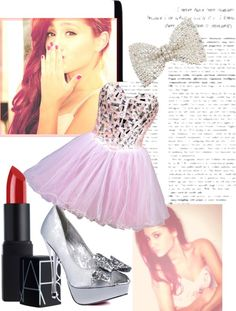 """""""Arians Grande Inspired """" by elle-11-96 ❤ liked on Polyvore"""