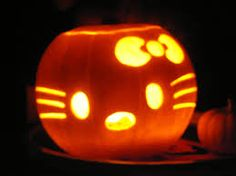 hello kitty pumpkin ideas - Google Search